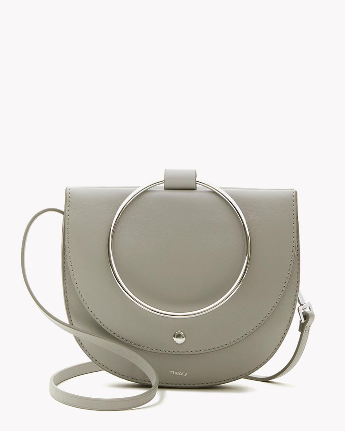 Whitney Hoop Bag in Leather