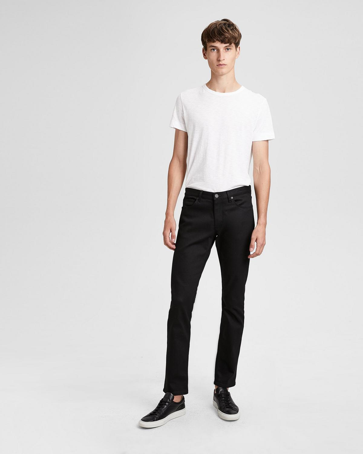 Stretch Cotton Slim Jean