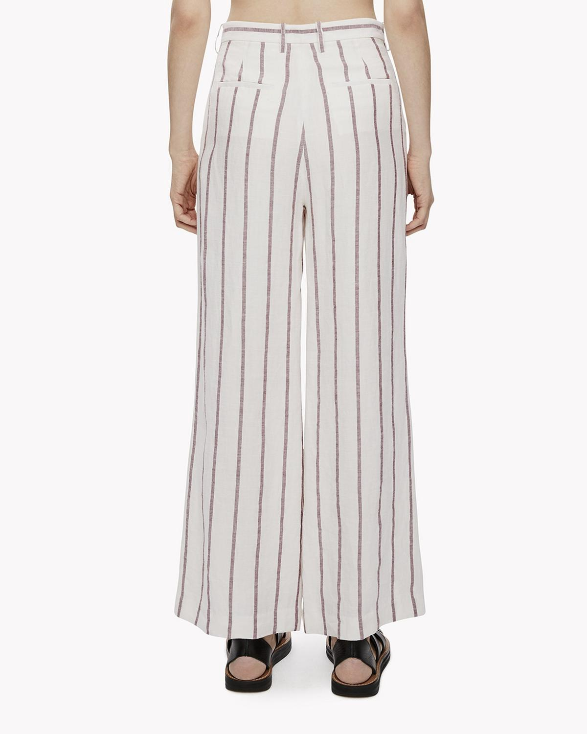Striped Linen Culotte