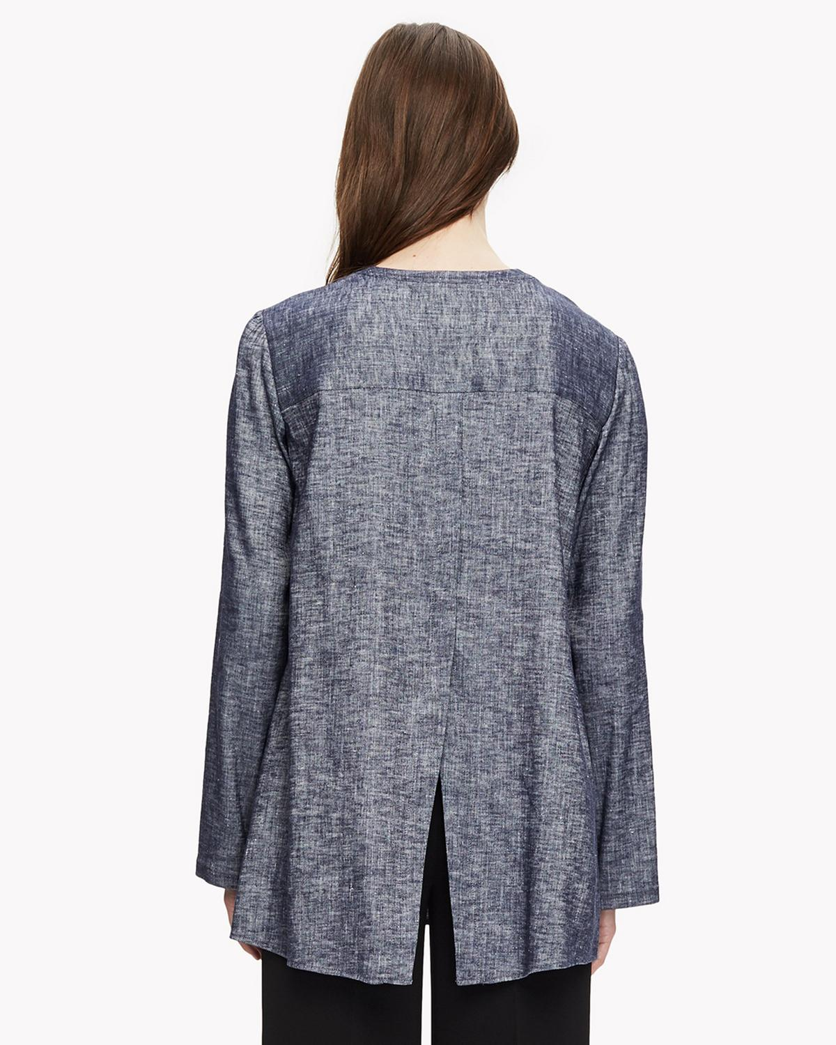 Linen Pleated Tunic