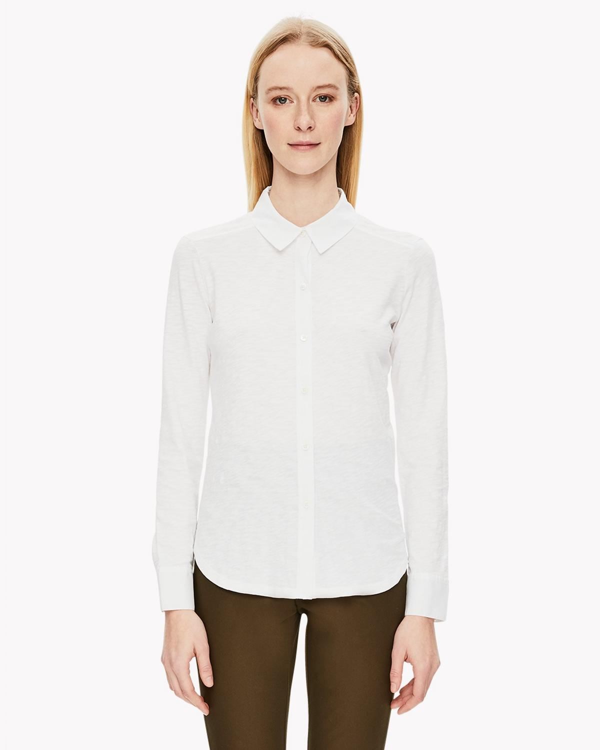 Slub Cotton Shirt