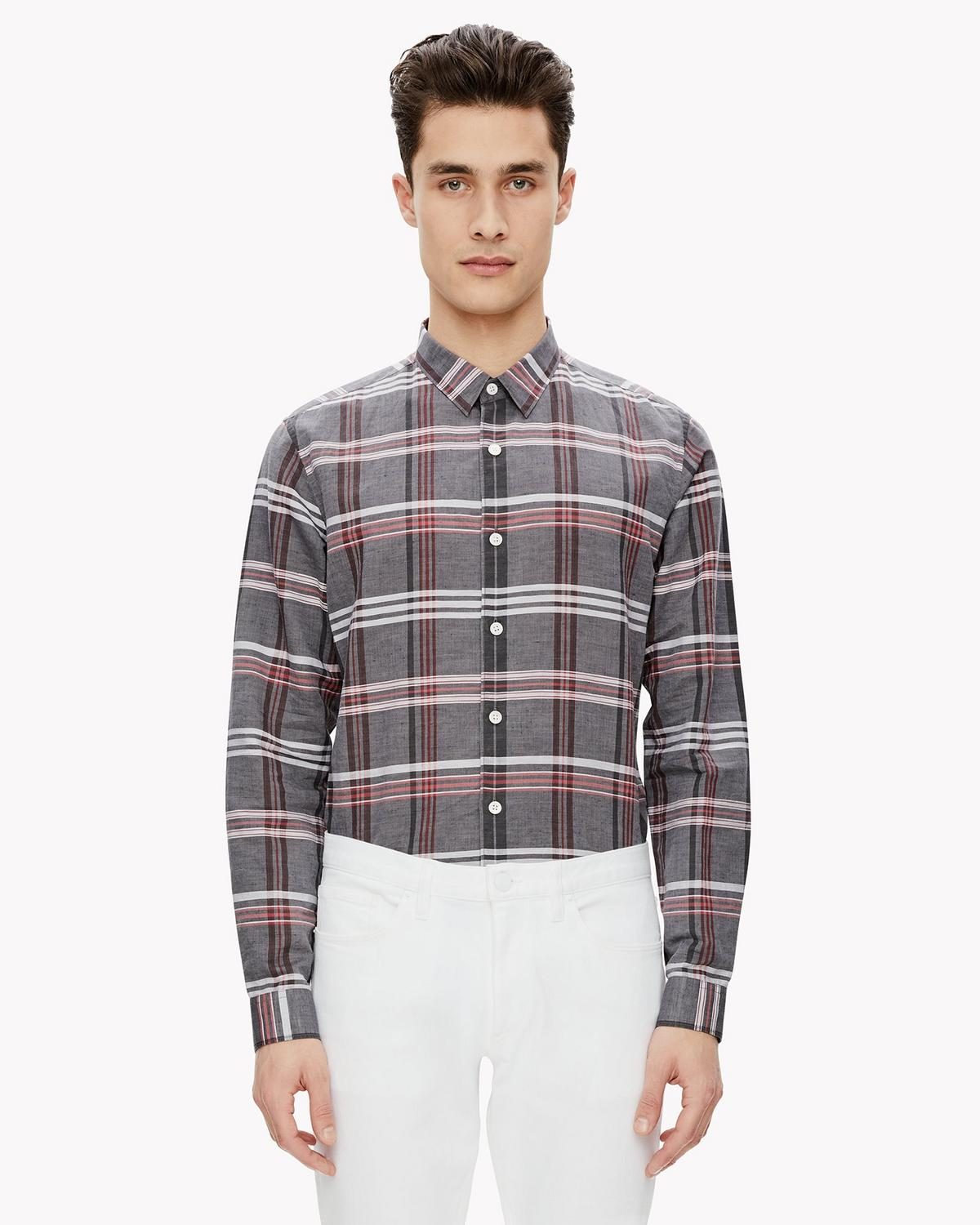 Relaxed Madras Shirt