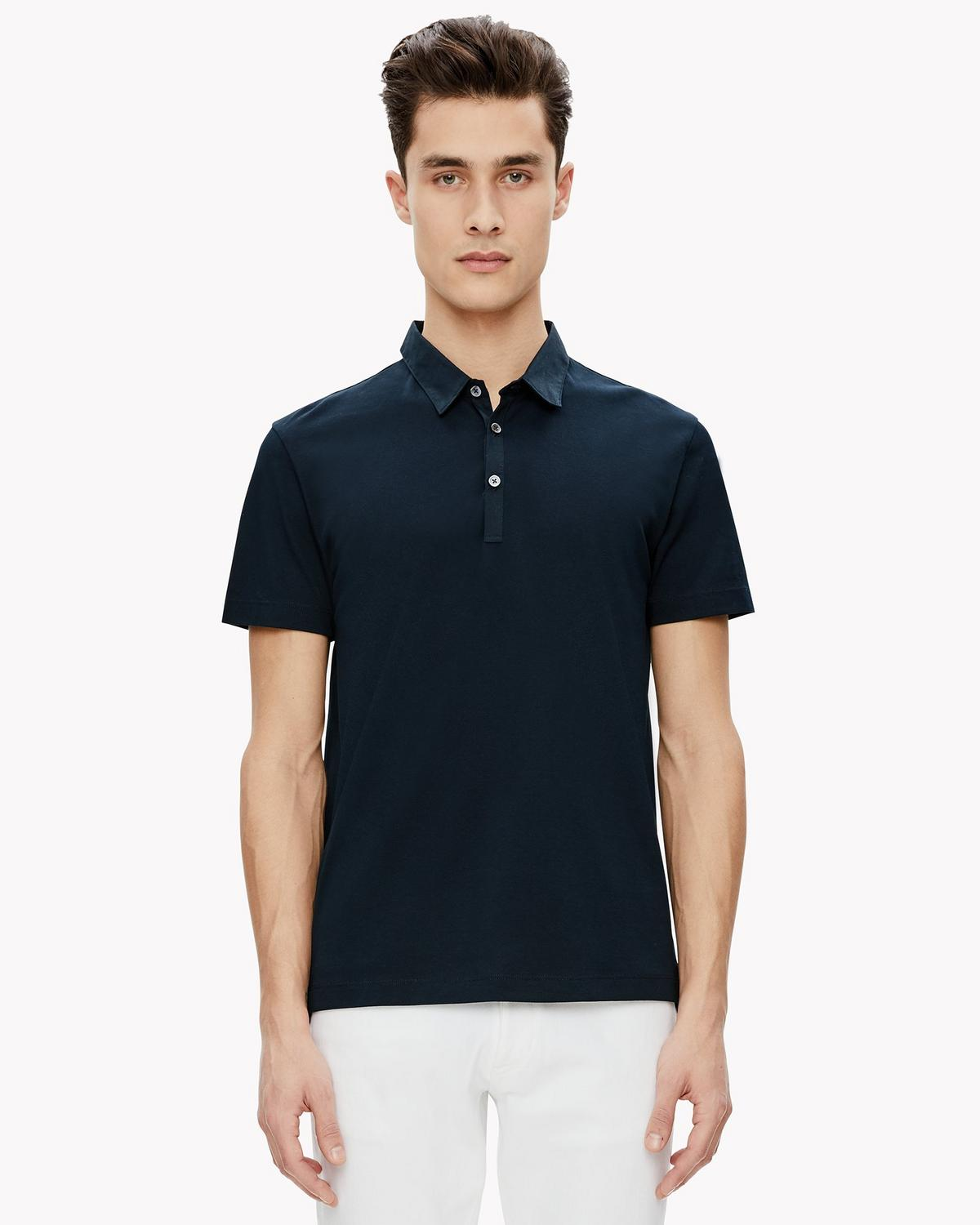 Bound Placket Polo