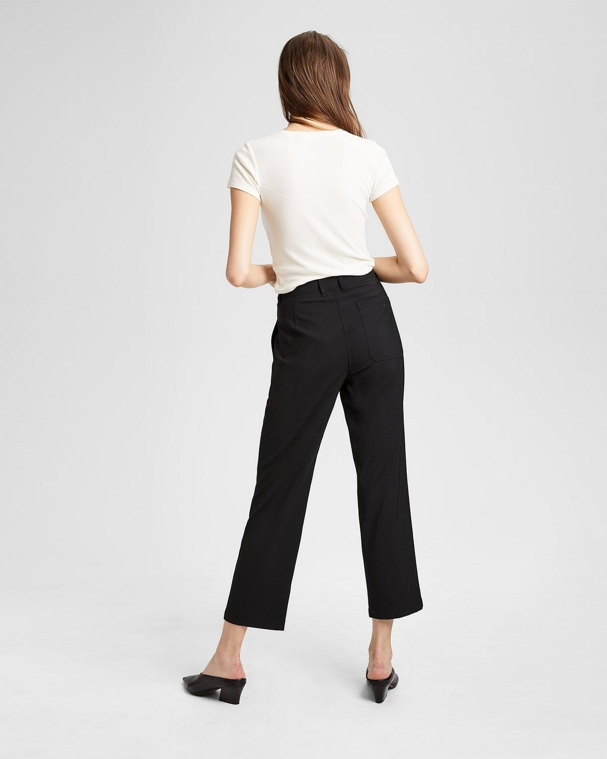 Relaxed Crop Pant