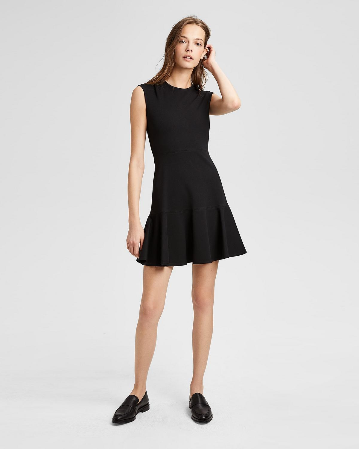 Cheap Big Sale New Theory Essential Flare dress New Fashion Style Of aVYGNx