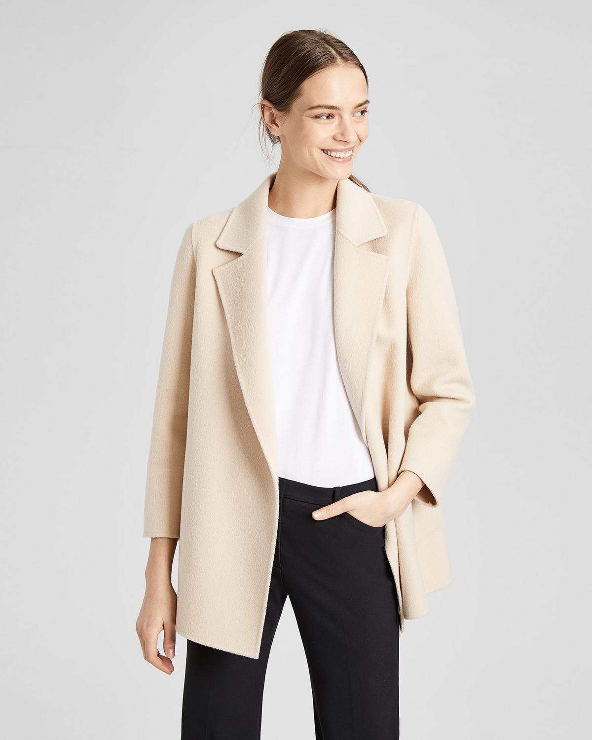 Double Faced Relaxed Jacket Theory