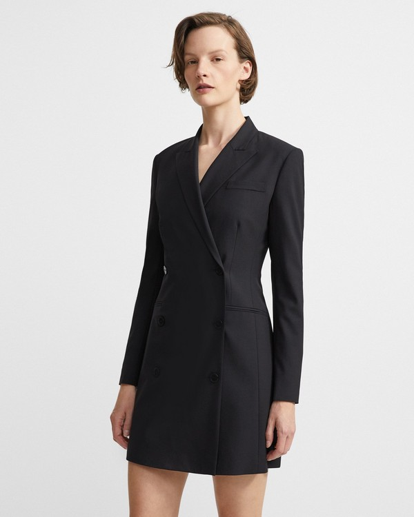 Good Wool Blazer Dress