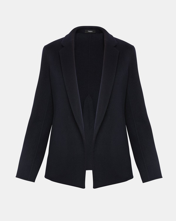 띠어리 Theory Double-Faced Pleated Jacket,NOCTURNE