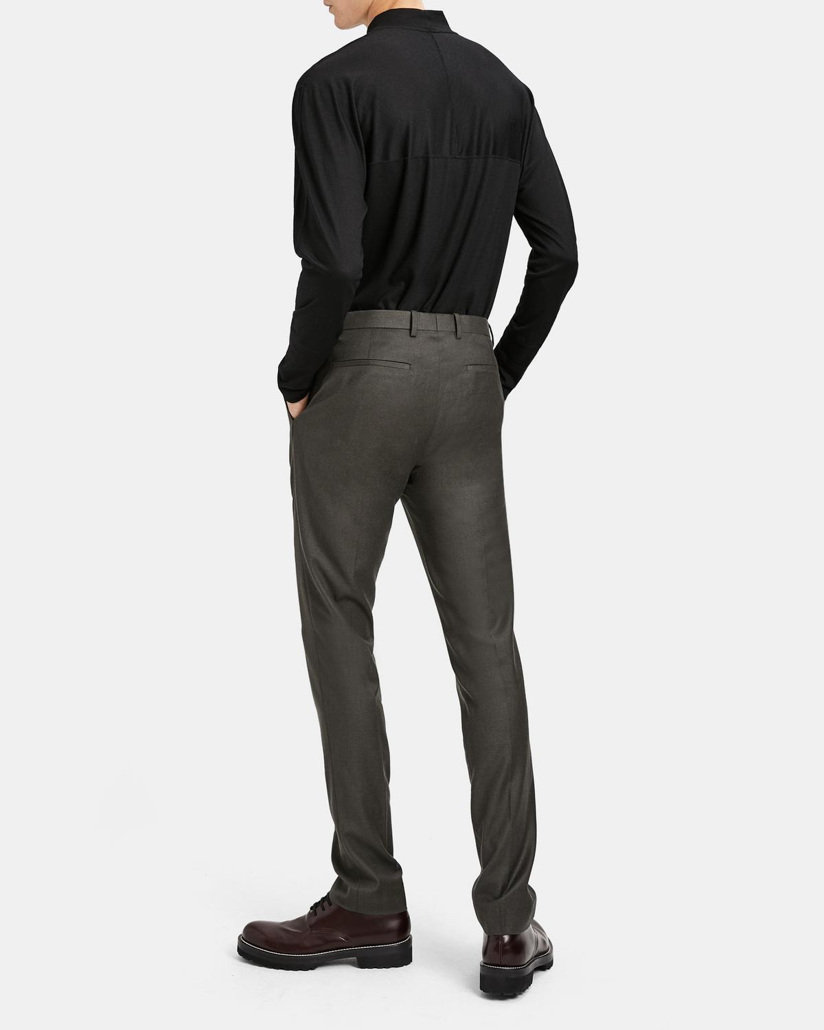 Tailored Flannel Zaine Pant