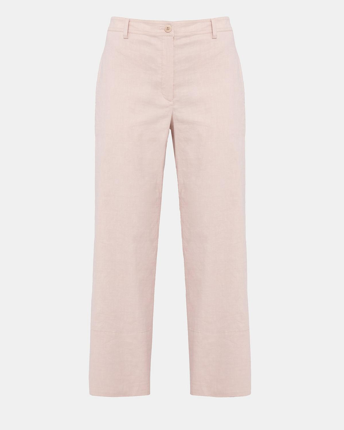 Organic Crunch Linen Fluid Pant by Theory