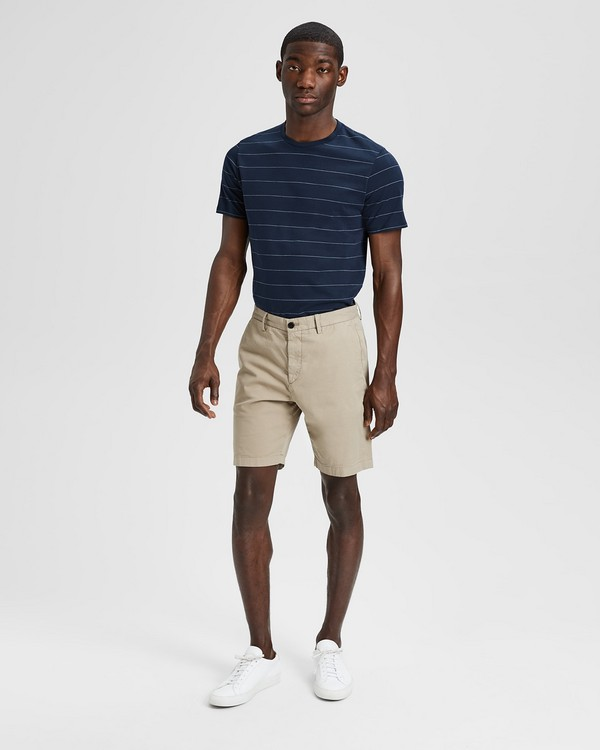 띠어리 Theory Garment-Washed Zaine Short
