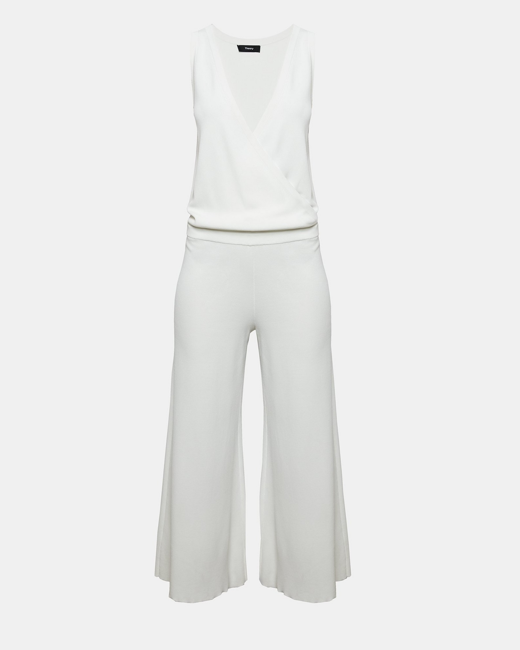 Knit Wrap Jumpsuit by Theory
