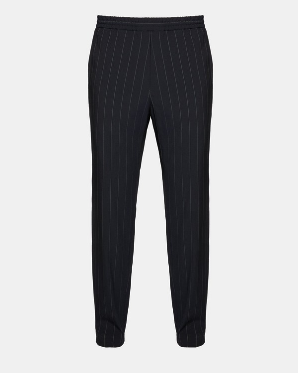 띠어리 Theory Wool Blend Dashed Pinstripe Pant,ECLIPSE STRIPE