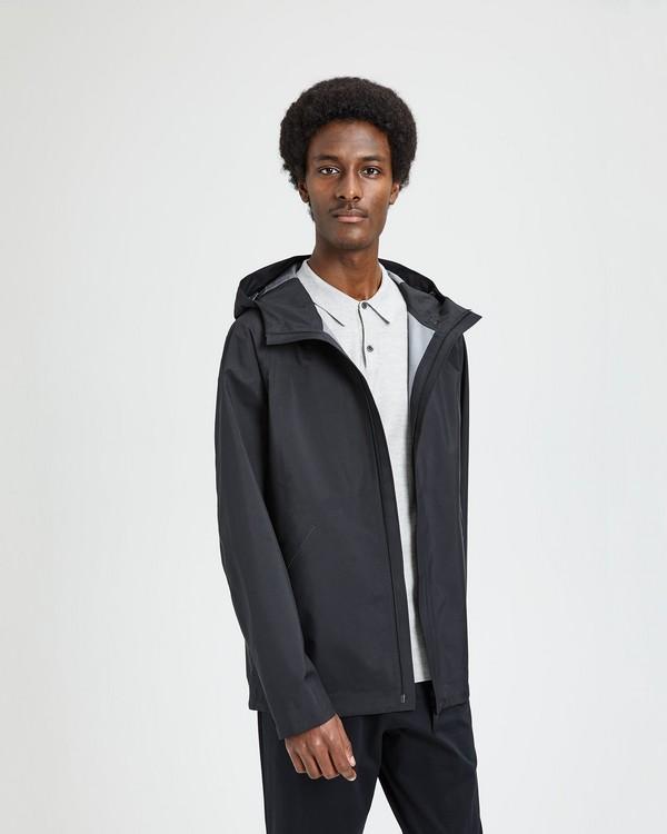 띠어리 Theory Triple-Layer Poplin Hooded Jacket
