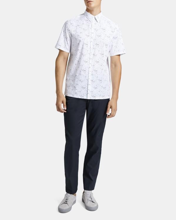 띠어리 Theory Printed Cotton Standard-Fit Shirt
