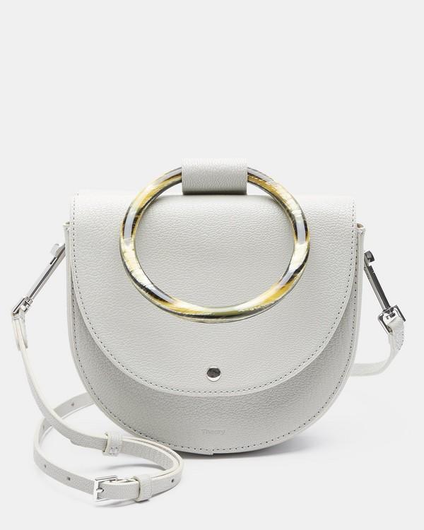 띠어리 휘트니백 라임스톤 Theory Whitney Bag in Pebbled Leather,LIMESTONE