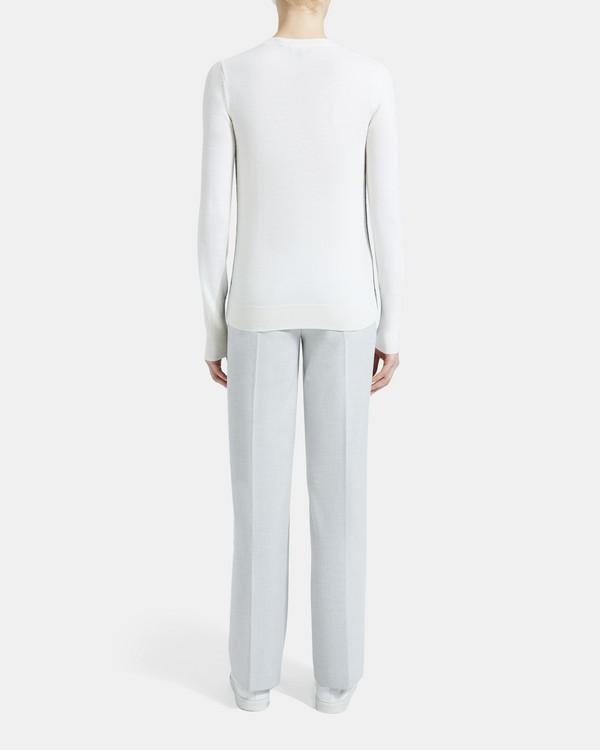띠어리 Theory Wool Color-Blocked Sweater