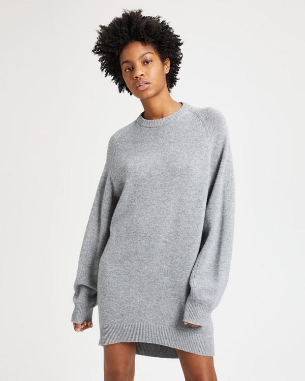 띠어리 니트 스웻셔츠 원피스 허스키컬러 Theory Knit Sweatshirt Dress,HUSKY