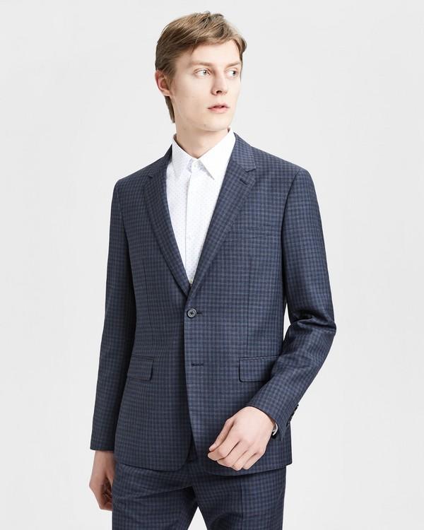 띠어리 Theory Wool Check Gansevoort Jacket,ECLIPSE CHECK