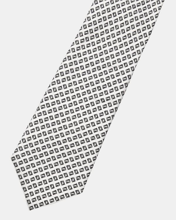 띠어리 Theory Silk Geo Box Roadster Tie,PUTTY MULTI