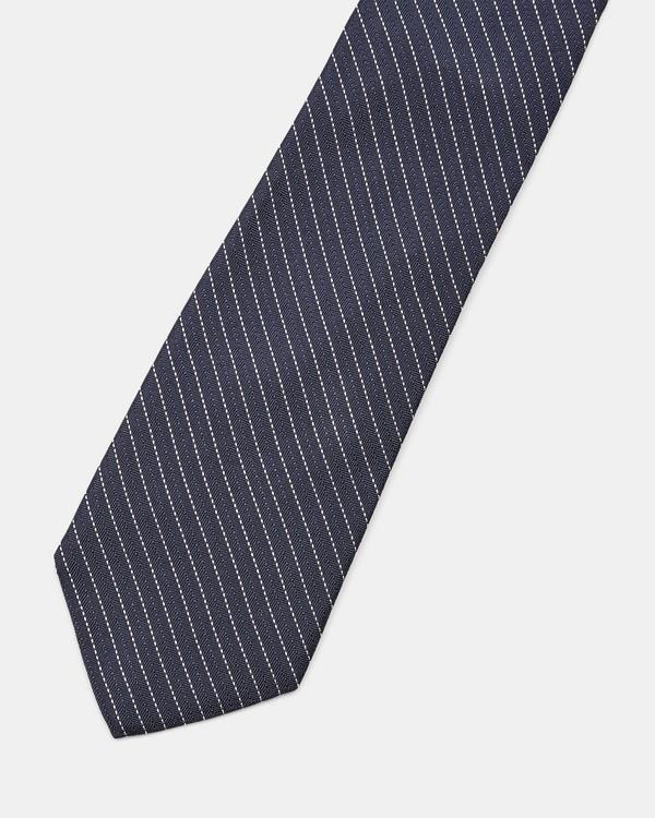 띠어리 Theory Silk Striped Roadster Tie