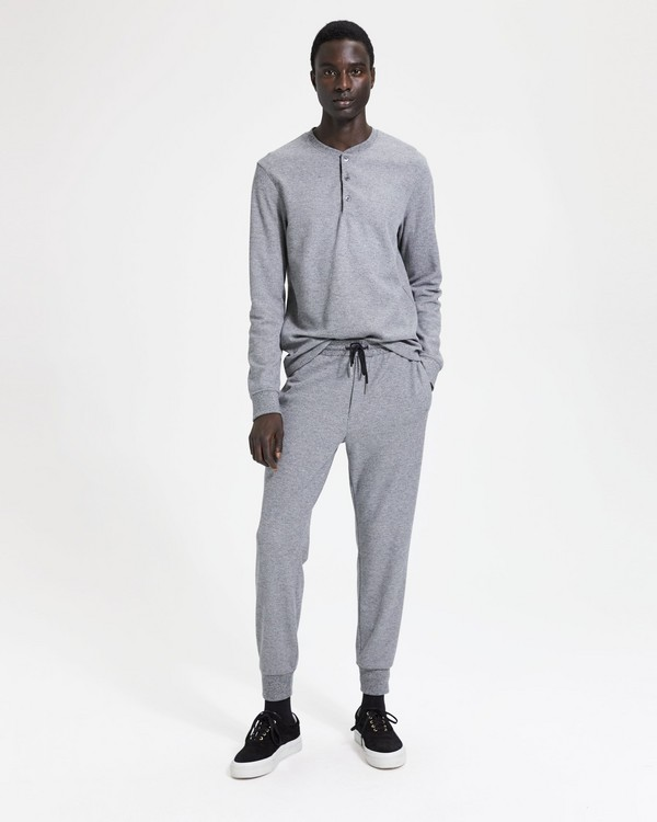 띠어리 Theory Essential Sweatpant,BLACK/WHITE