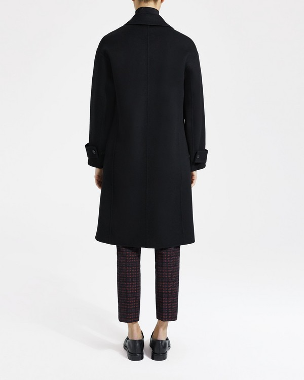 띠어리 Theory Wool-Cashmere Easy One-Button Coat