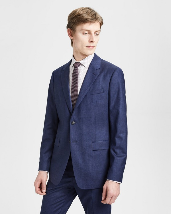 띠어리 Theory Good Wool Flannel Chambers Jacket,ADMIRAL