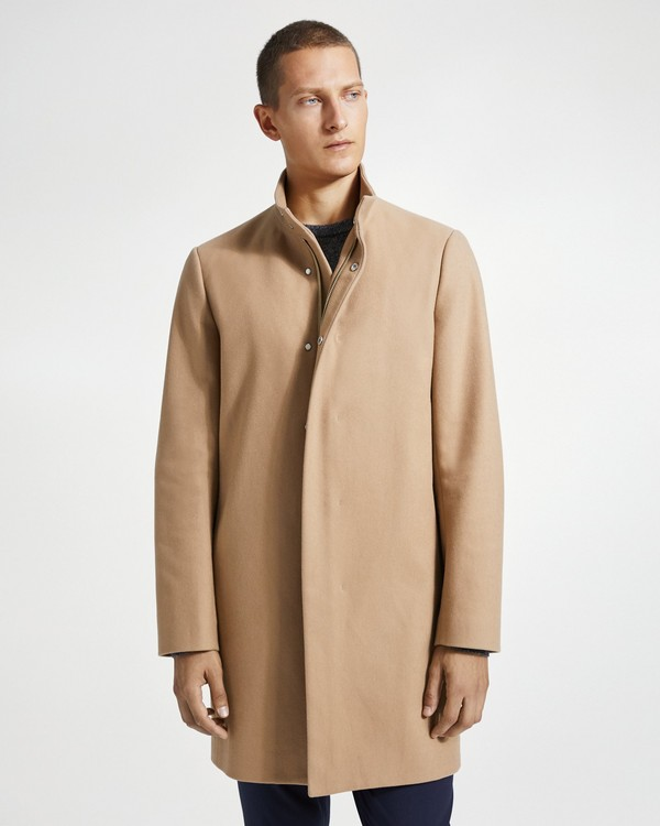 띠어리 Theory Stretch Melton Belvin Coat