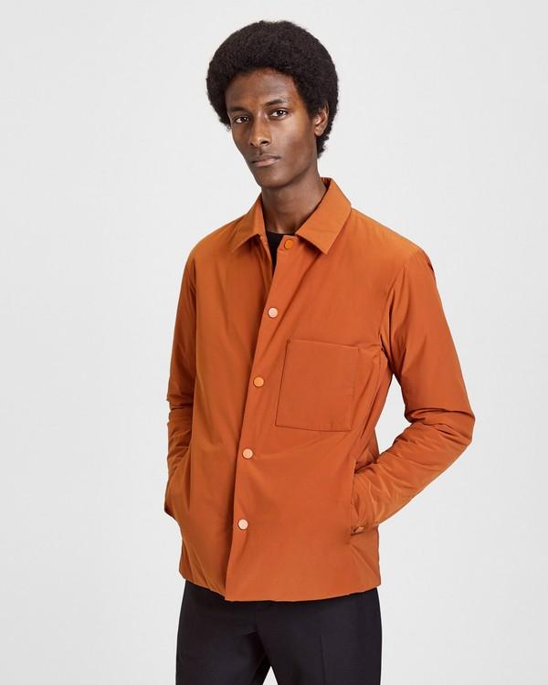 띠어리 Theory Paper Nylon Shirt Jacket