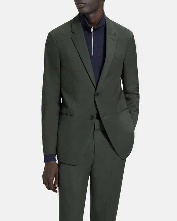 띠어리 갠즈보트 자켓 Theory Sartorial Cotton Wool Gansevoort Jacket,BRUNSWICK