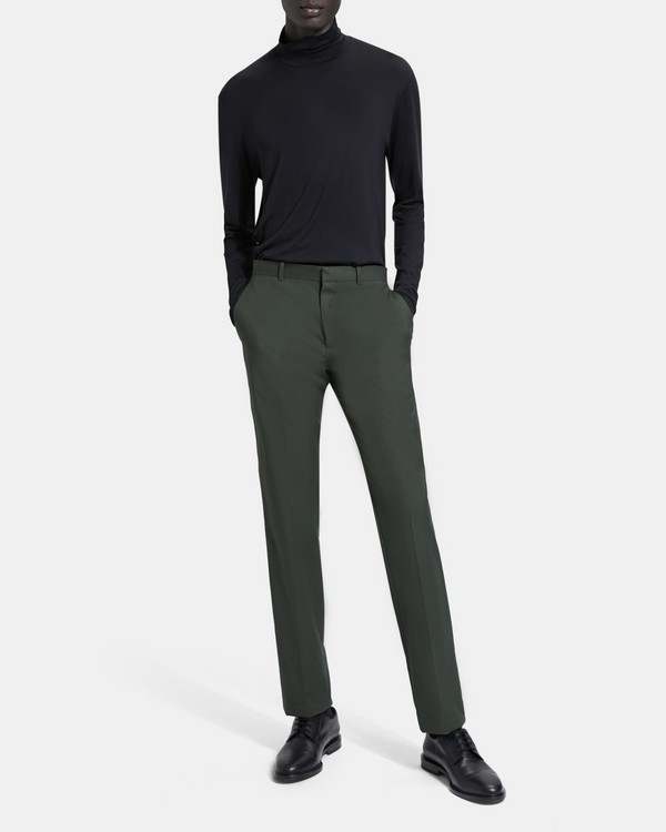 띠어리 Theory Sartorial Cotton Wool Mayer Pant,BRUNSWICK