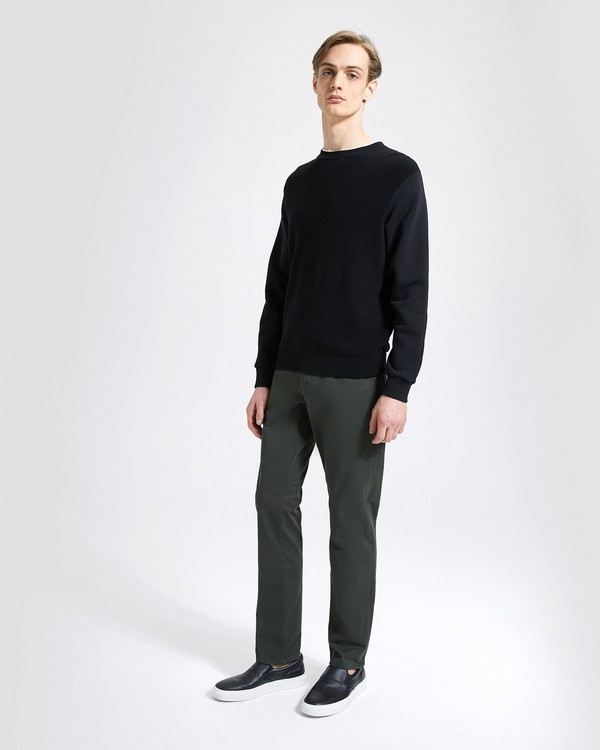띠어리 Theory Stretch Cotton Twill Haydin Pant,BRUNSWICK