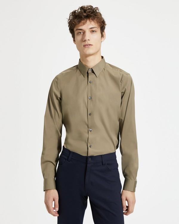 띠어리 맨 스트레치 코튼 테일러드핏 셔츠 - 2 컬러 Theory Stretch Cotton Tailored-Fit Shirt