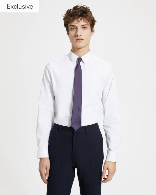 띠어리 맨 넥타이 Theory Matte Silk Roadster Tie