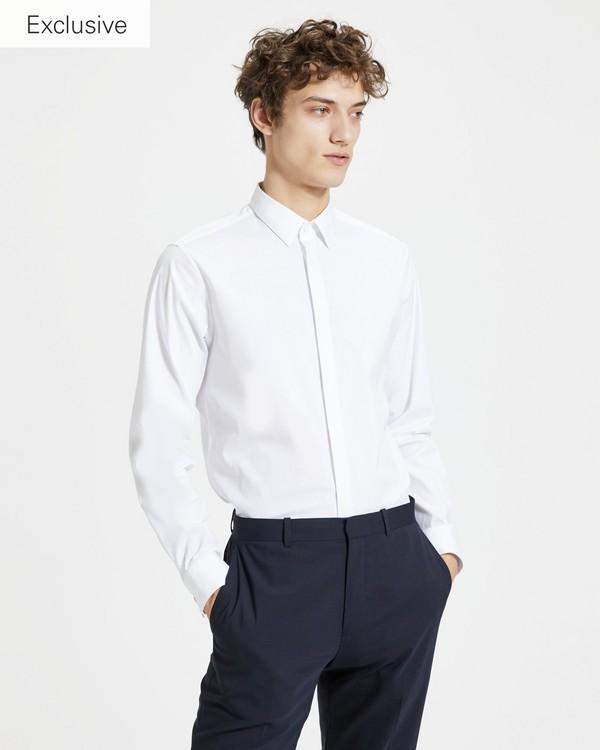 띠어리 맨 트래블 웰스 라일리 셔츠 - 2 컬러 Theory Travel Wealth Riley Shirt