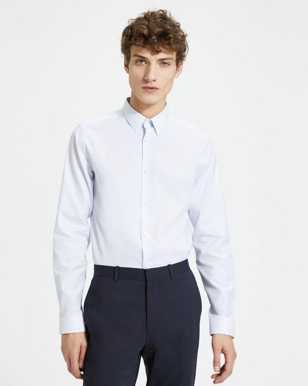 띠어리 맨 그리드 프린트 세드릭 셔츠 - 2 컬러 Theory Grid Print Cedrick Shirt