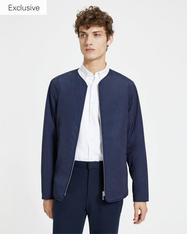 띠어리 Theory Zip-Front Liner Jacket,ECLIPSE