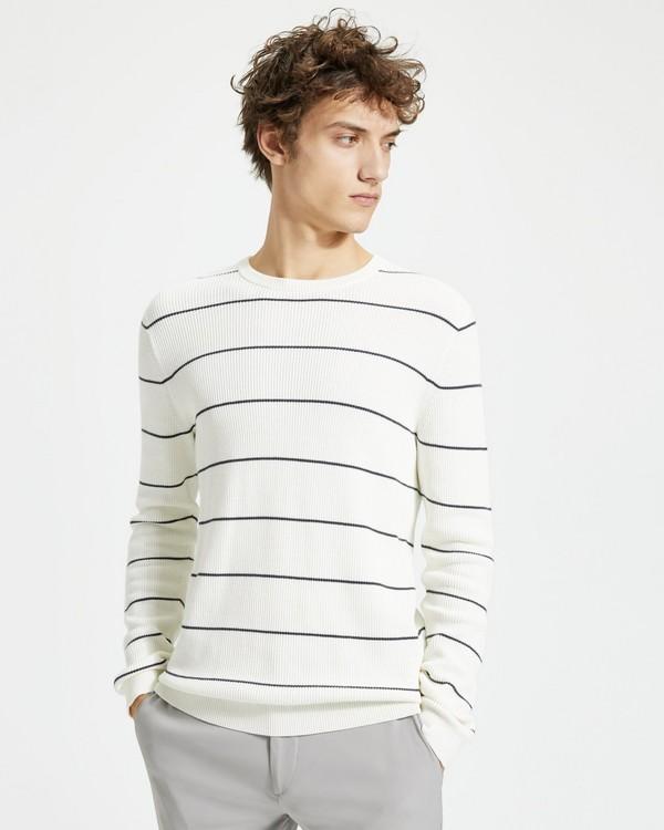 띠어리 Theory Striped Ronnel Sweater