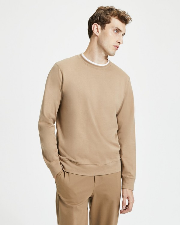 띠어리 Theory Organic Cotton Jersey Crewneck