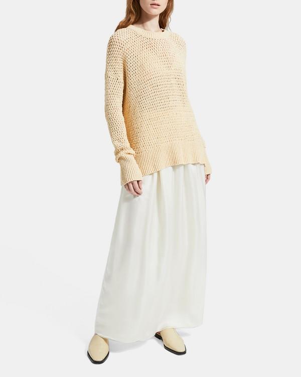 띠어리 스웨터 Theory Cotton Nylon Karenia Sweater