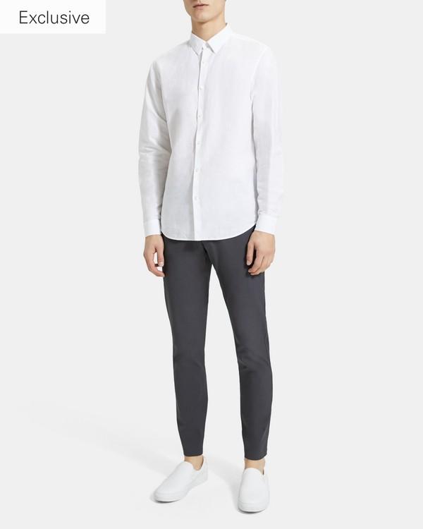 띠어리 맨 에센셜 린넨 어빙 셔츠 Theory Essential Linen Irving Shirt