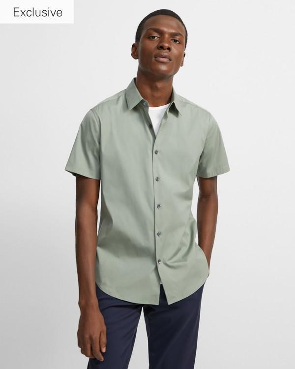 띠어리 셔츠 Theory Short-Sleeve Sylvain Shirt