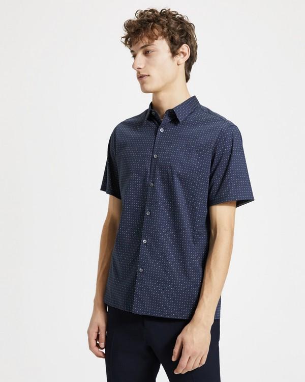 띠어리 맨 스피어 프린트 어빙 셔츠 Theory Sphere Print Irving Shirt