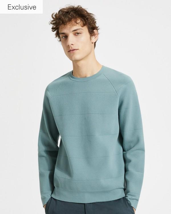 띠어리 Theory Engineered Crewneck Sweater