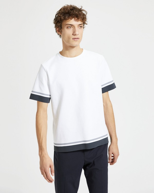 띠어리 Theory Surf Stripe Tee