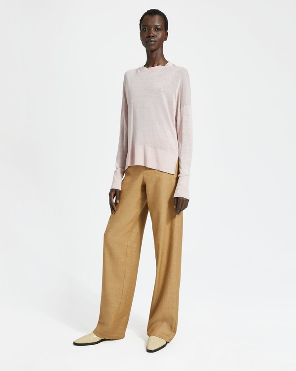 띠어리 Theory Linen Blend Karenia Sweater
