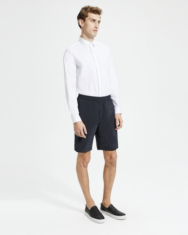띠어리 반바지 Theory Graham Short,BLACK