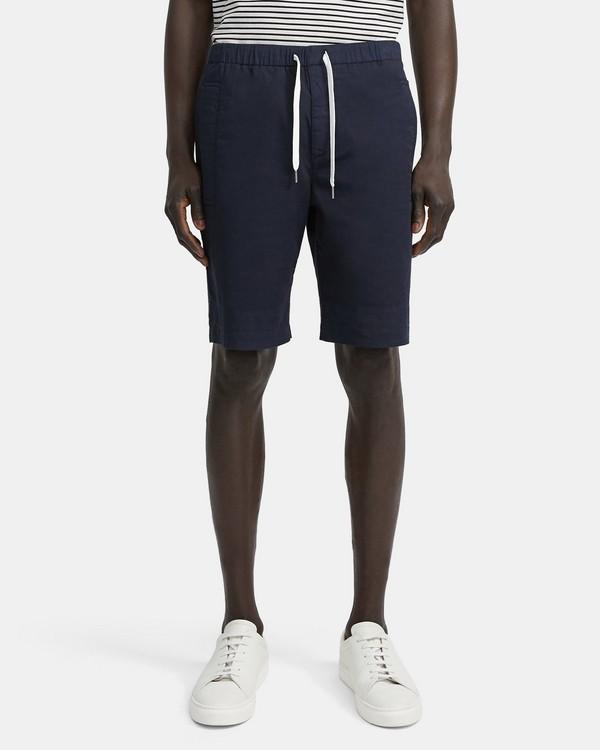 띠어리 반바지 Theory Garment-Washed Nevins Short