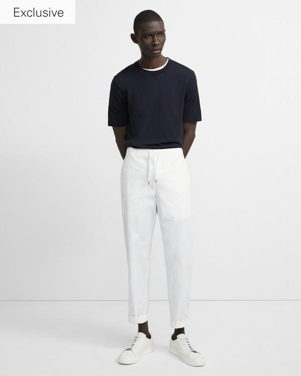 띠어리 남성 바지 Theory Garment-Washed Nevins Pant